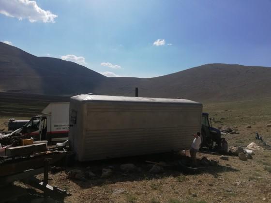 İmecik yaylası karavan lastik montajı