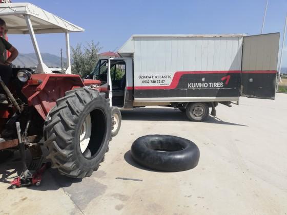 Büyükköyde traktör lastiği tamiri