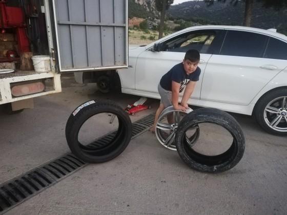 Antalya yolu sögütcük mah bmv lastik montajlı