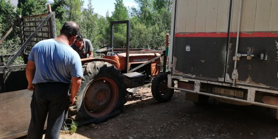 Rakım 2000 ormanda kalan müşterimizide yardım