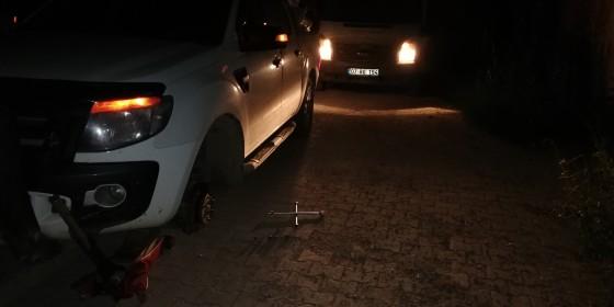 Gece 3 30 sülekler mahallesinde lastik tamiratı