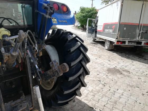 Traktör lastiğinde bir numara lstikci
