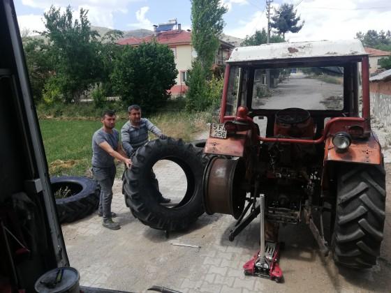 Burdur tefenli beyköye kaplama lastik satışı ve montajı