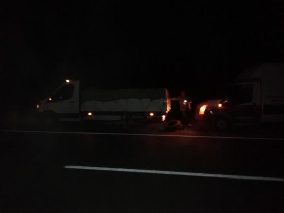 Gece yolda kalana derman olduk