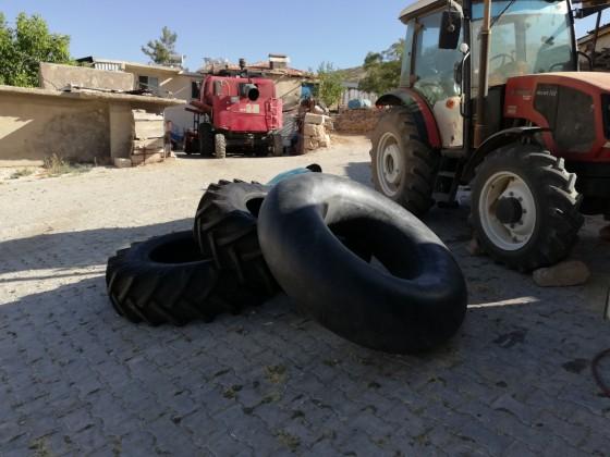 İmecik mahallesinde yeni lastik montajı